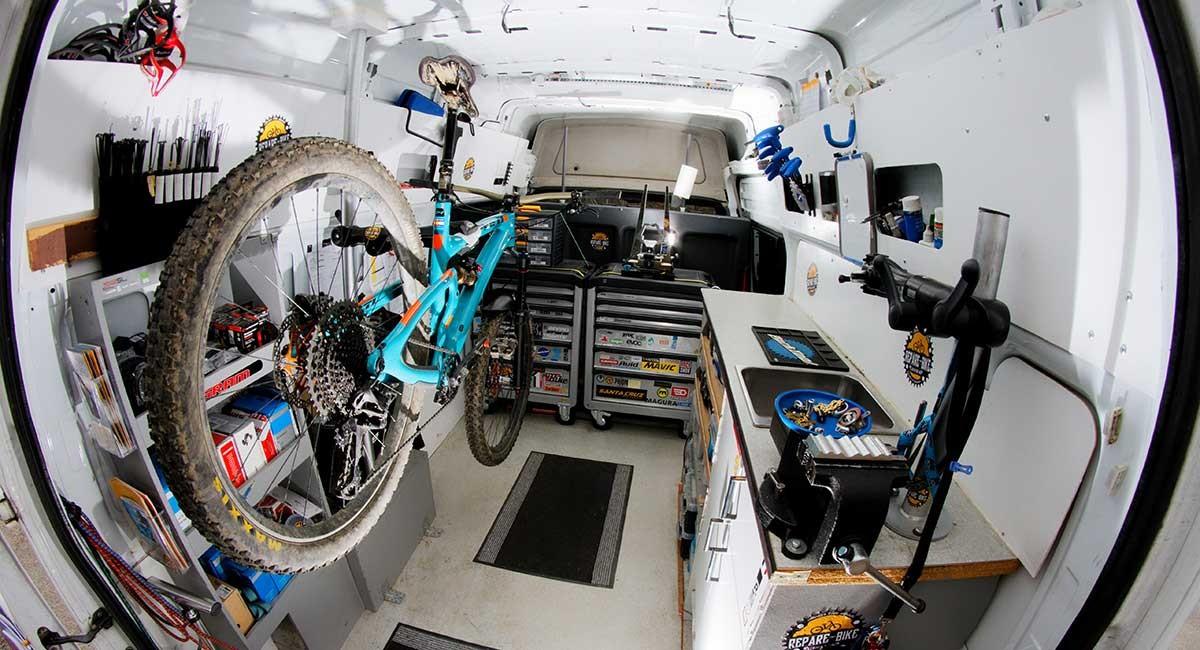 Atelier Mobile pour vélos